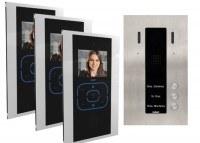 KDV703ESA - Guinaz 3 Wohneinheiten Video Sprechanlage