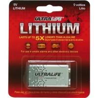 Lithium-Batterie 9v Block speziell für Rauchwarnmelder