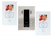 Guinaz KDV752 Video Türsprechanlage Zweifamilien-Set, mit Bildspeicher