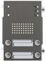 Pixel Heavy Audio-Frontplatte, 4 Klingeltasten 2-reihig, IK10, IP54