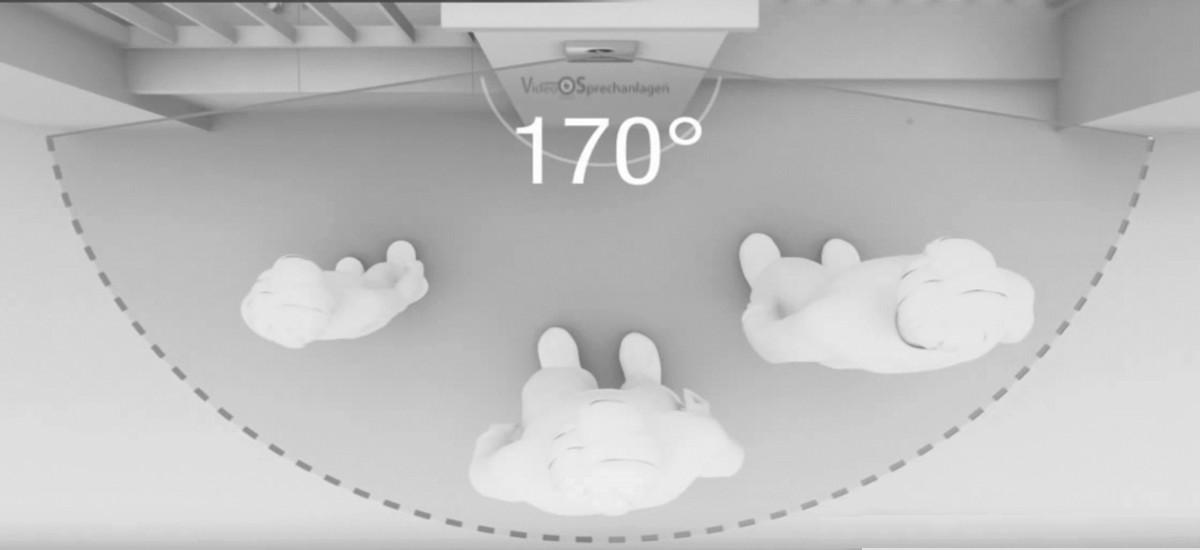 Türstation Kamera mit 170 Grad