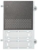 Pixel Audio-Frontplatte, schiefergrau