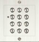 Codetastatur Unterputz / Edelstahl / 2 Schaltrelais