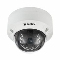 BALTER 2.0MP Infrarot IP Dome-Kamera, 2.8-12mm Motorzoom