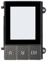 Pixel Frontplatte für Displaymodul, schiefergrau