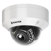 BALTER 2.0MP Infrarot IP Dome-Kamera, 2.8-12mm, 1920x1080p, Nachtsicht 30m, WDR 120dB , H.265 / H.26