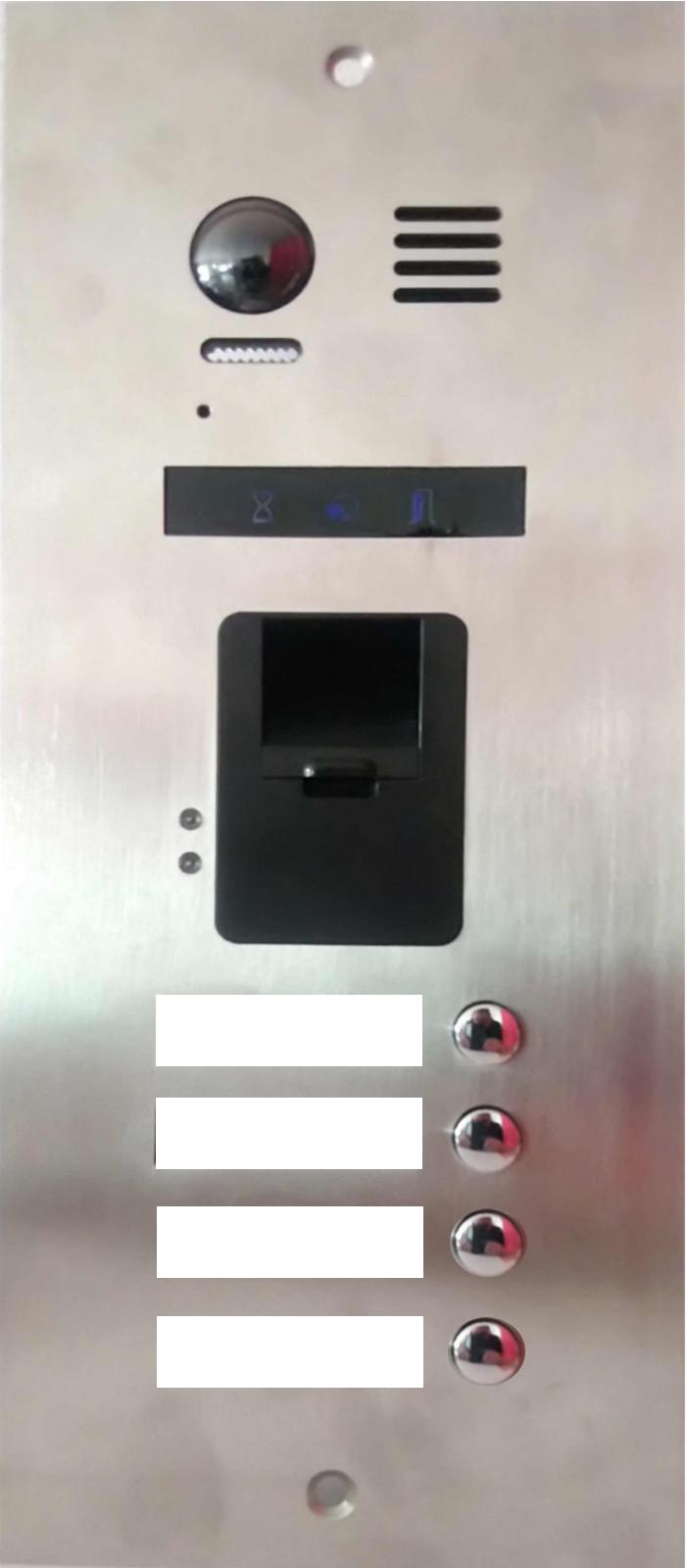 4-Familien-Video-Tuersprechanlage-mit-integrierten-Fingerabdruckleser_neuheit_exklusiv