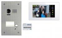 2 Draht Video Türsprechanlagenset für ein 1 Familienhaus