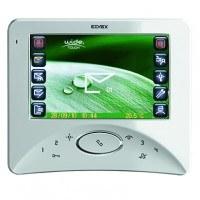 Elvox Videohaustelefon Wide Touch 2-Draht System weiß, Aufputz Bildspeicher