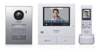 Panasonic VL-SWD501UEX Video Türsprechanlage mit zusätzlichen Funk-Monitor
