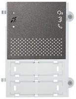 Pixel Teleloop Audio-Frontplatte, schiefergrau