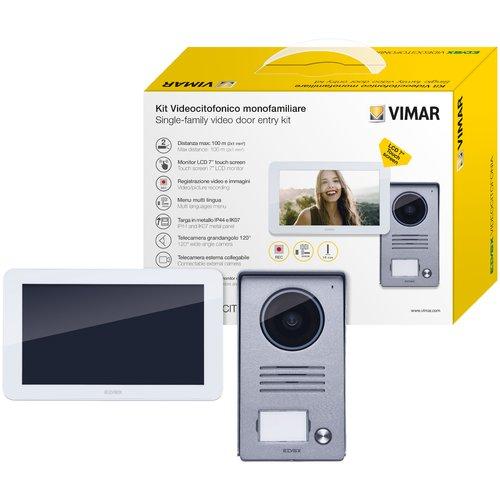 1-Familien-Video-T-rsprechanlage-K40915-Touchscreen-7-Zoll-Monitor-HD-Display-2-Draht-Technik-120-Weitwinkel-T-rstation-36-Monate-Garantie