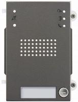 Pixel Heavy Audio-Frontplatte, 1 Klingeltaste, IK10, IP54, fr Art. 41001