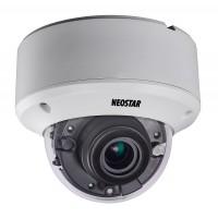 NEOSTAR 2.0MP Vandalensichere EXIR HD-TVI Dome-Kamera, 2.8-12mm Motorzoom, Nachtsicht 40m, WDR 120dB