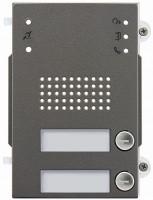 Pixel Heavy Audio-Frontplatte, 2 Klingeltasten, IK10, IP54, fr Art. 41001