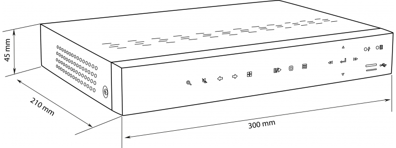 balter-84-kanal-hybrid-hd-tviahdcvi-ip-videorekorder-h264-3mp-4mp-audio-p2p-balter-cms-12v-dc