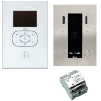 GUINAZ Einfamilien-Set Videotuersprechanlage 2-Draht KDV851