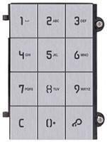 Pixel Frontplatte für Tastaturmodul, grau