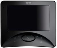 Elvox Videohaustelefon Wide Touch 2-Draht System schwarz Aufputz Bildspeicher