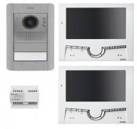 Elvox 7211 2 Draht Video Türsprechanlagen Set Einfamilienhaus