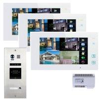 Elogoo 2 Draht RFID Videosprechanlage Komplettset