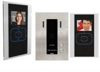 KDV702SA - 2 Familien Videotürsprechanlage schwarz