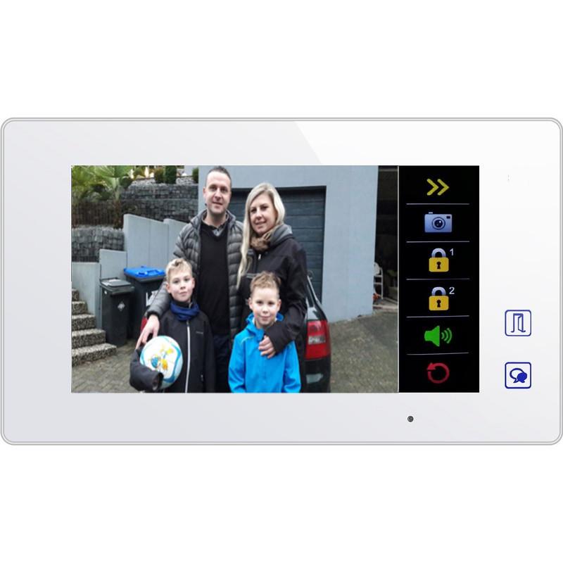 elogoo-sprechanlage-videosprechanlage-2draht-bus-Monitor-touchscreen-7zoll