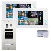 Elogoo 2 Draht RFID Videotürsprechanlage Komplettset