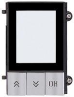 Pixel Frontplatte für Displaymodul, grau