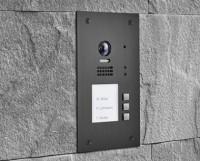 BALTER EVIDA Graphit RFID Edelstahl-Türstation für 3Teilnehmer