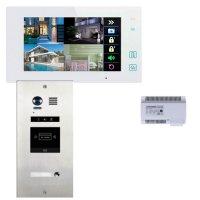 Elogoo 2 Draht RFID Video Türsprechanlage Komplettset