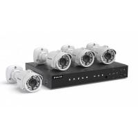 IP Videoüberwachung Komplettset mit 4 Kameras - Neu Neu Neu Neu