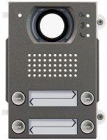 Pixel Heavy Audio/Video-Frontplatte, 4 Klingeltasten 2-reihig, IK10, IP54