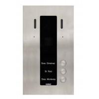 Guinaz PDV603S 3 Familien ALEA Compact Video-Türstation 2 Draht