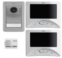 Elvox 2 Draht Komplettset Videotuersprechanlage fürs Einfamilienhaus