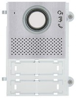 Pixel Audio/Video-Frontplatte, grau