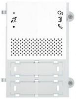 Pixel Teleloop Audio-Frontplatte, weiss