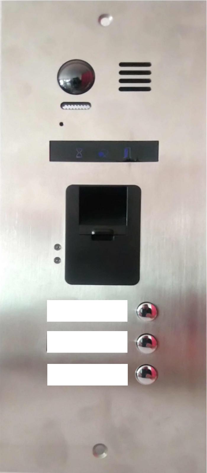 3-Familien-Video-Tuersprechanlage-mit-integrierten-Fingerabdruckleser_neuheit_exklusiv