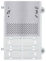 Pixel Teleloop Audio-Frontplatte, grau