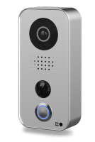 DoorBird Video Türstation D101S, Polycarbonate Gehäuse, Strato-Silver Edition