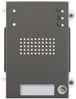Pixel Heavy Audio-Frontplatte, 1 Klingeltaste, IK10, IP54