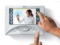 Elvox Videohaustelefon Wide Touch 2-Draht System weiß Unterputz Bildspeicher