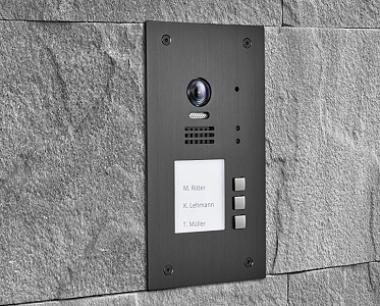 balter-evida-graphit-rfid-edelstahl-tuerstation-3-teilnehmer-2-draht-bus-technologie-170-ultra-weitwinkelkamera