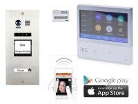 Unterputz Video Türsprechanlagenset mit Smartphone APP » NEUHEIT »